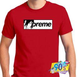 Naruto Sasuke X Supreme Parody Box T shirt