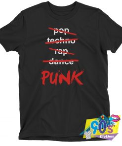 Pop Techno Rap Dance Punk T shirt