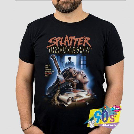Splatter University Horror T shirt