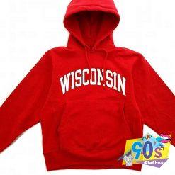 Vintage Wisconsin University College Hoodie