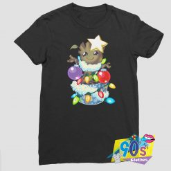 Baby Groot Guardians Christmas T shirt