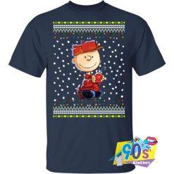 Charlie Brown Holding Bomb Christmas T shirt