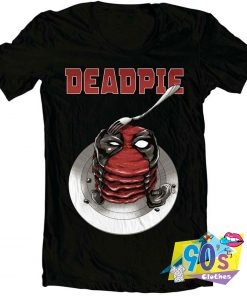 Deadpie Funny Eating T shirt