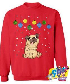 Funny Pug Christmas Hoodie