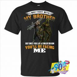 Groot Rocket Raccoon My Brother T shirt