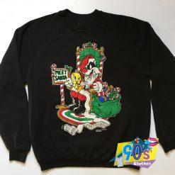 Meet Santa Looney Tunes Christmas Sweatshirt