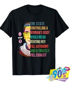 Official Ruth Bader Ginsburg Pro Choice Feminist T shirt