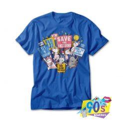 Save The Unicorns Squad T shirt