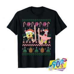 Spongebob SquarePants Patrick Holiday T shirtt