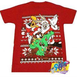 Ugly Looney Tunes Squad Christmas Sweatshirt