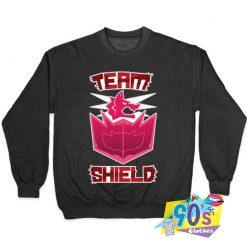 Awesome Team Shield Gaming Sweatshirt