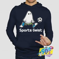 Funny Sports Geist Playing Football Hoodie