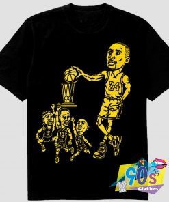 Kobe Bryant Champion Trophy vs Iverson T Shirt