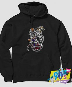 Kobe Bryant Playing Basketball Snake Hoodie