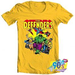 The Defenders Retro Marvel Comics T Shirt