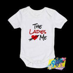 The Ladies Love Me Baby Onesie