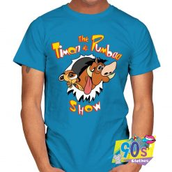 The Timon and Pumbaa Smiling T shirt