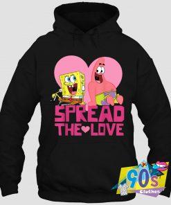 Unique Spread The Love SpongeBob Hoodie