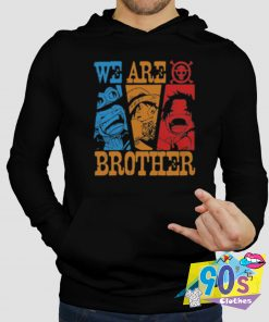 We Are Brothers Anime Hoodie