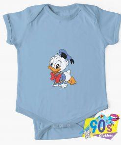 Baby Donald Duck Baby Onesie