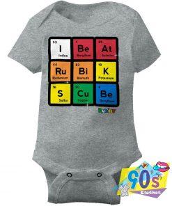 Beat Rubiks Cube baby Onesie