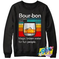 Bourbon Noun Magic Brown Sweatshirt