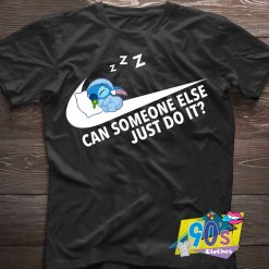 Can Sleep Just DO It Stitch T Shirt