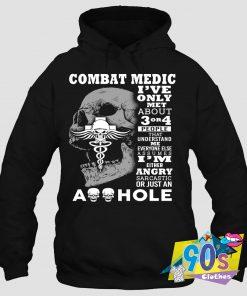 Combat Medic People Assumes Hoodie