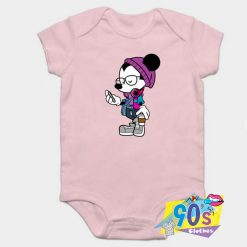 Cool Style Mickey Mouse Baby Onesie