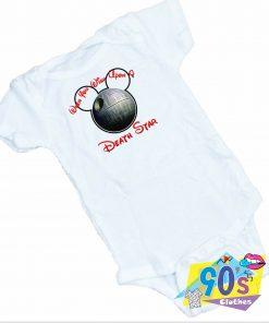 Death Star Walt Disney Baby Onesie