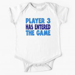 Entered The Game Baby Onesie