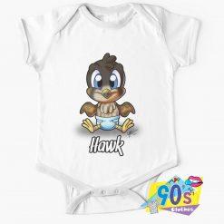 Funny Baby Hawk Baby Onesie
