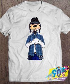 Funny Goof Dog Smoking T Shirt