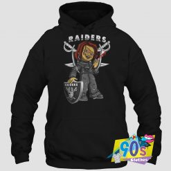 Funny Oakland Raiders X Chucky Hoodie