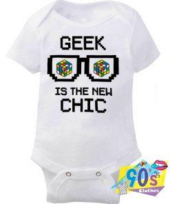 Geek Is The New Chic Baby Onesie