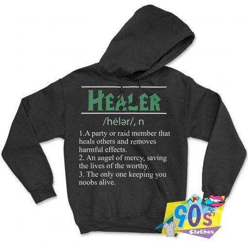 Healer RPG Dungeons and Dragons Hoodie