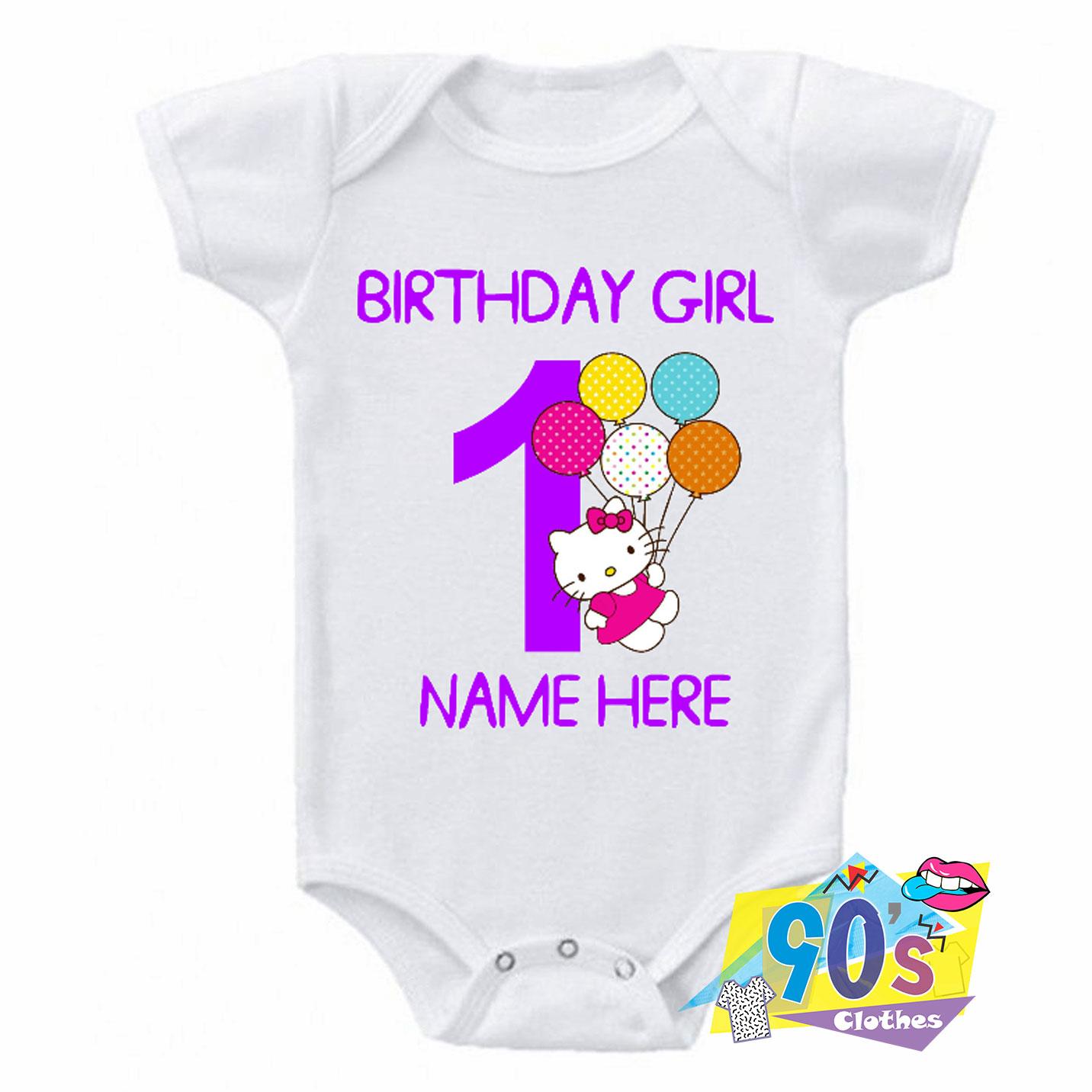 Birthday Girl Baby Onesie