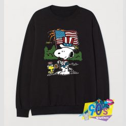 Independence Day Snoopy Sweatshirt