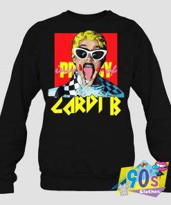 Invasion Of Privacy Cardi B Rapper Sweatshirt