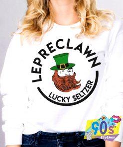 Lepreclawn Lucky St Patricks Day Sweatshirt