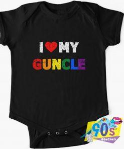 Love My Guncle Baby Onesie