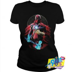 Marvel Superheroes In One Deadpool Thanos T Shirt