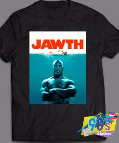 Mike Tyson Jaws Movie T Shirt