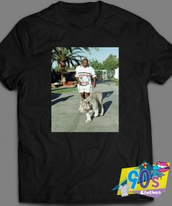 Mike Tyson Walking Tiger T Shirt