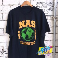 Nas Illmatic One Love 90s T Shirt