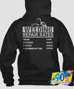 New Welder Hourly Rate Hoodie