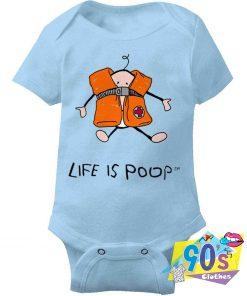 Oversized Large Life Jacket Baby Onesie