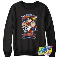 Peanuts New York Knicks Sweatshirt