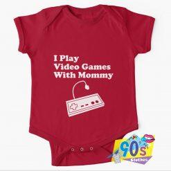 Play Video Games Baby Onesie