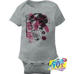 Pretty Betty Boop Cartoon Baby Onesie